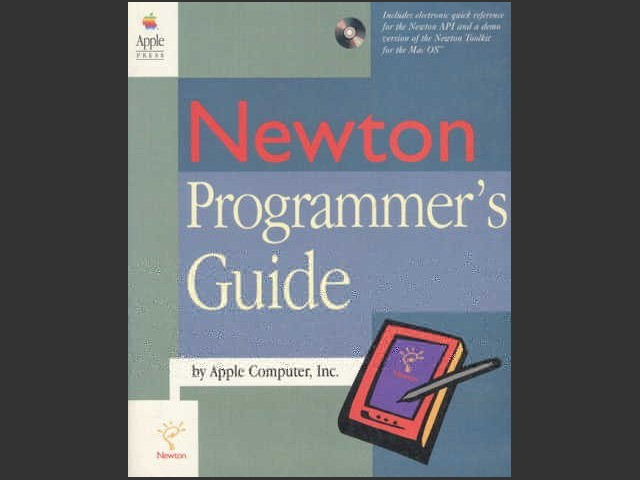 Newton Programmer's Guide - Cover