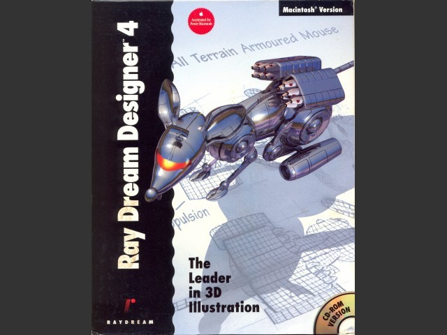 Ray Dream Designer 4 (1995)