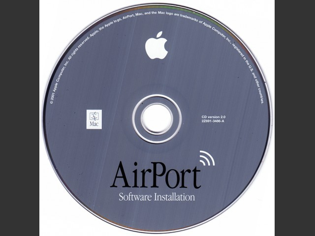 Airport Software Installation 2Z603-0352-A-Airport V2.0 (2001)