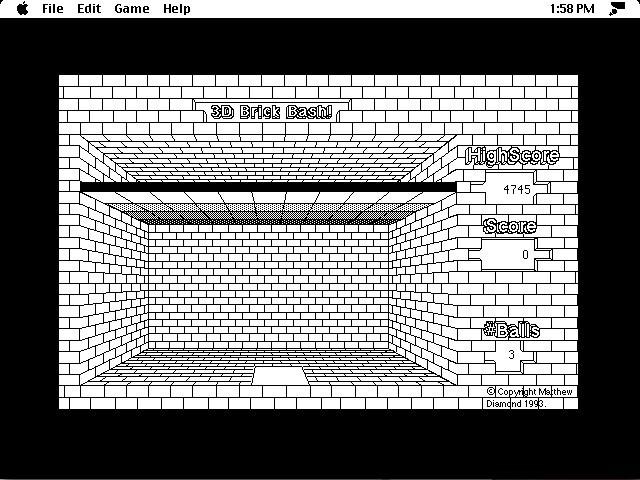 3D Brick Bash (1993)