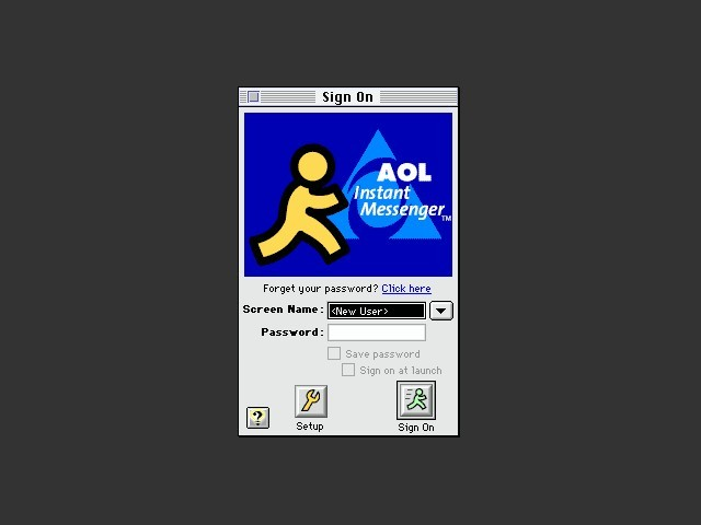 AOL Instant Messenger 3.0.1466 (1999)