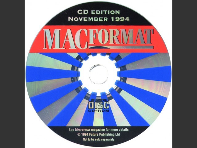MacFormat 1994 Cover CDs (1994)