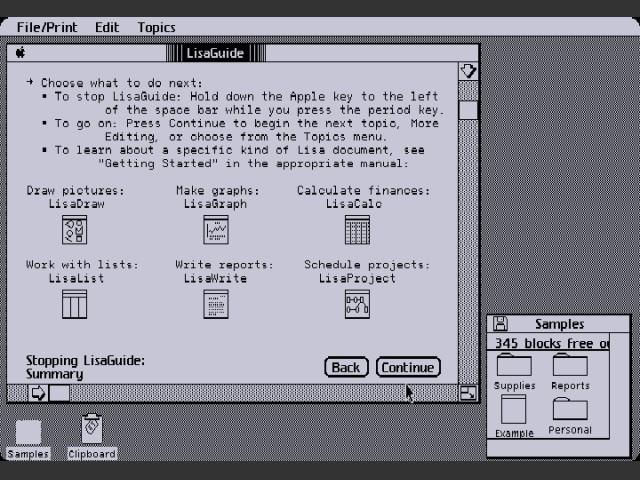 LisaGuide 3.0 (1984)