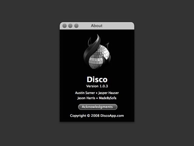 Disco (2006)