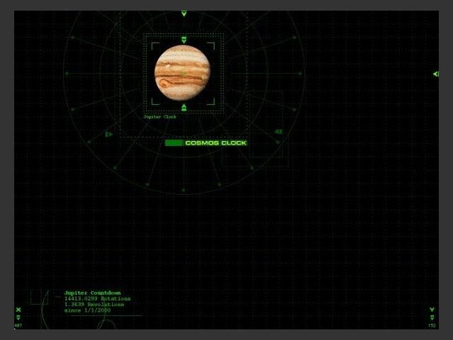 Screensaver view