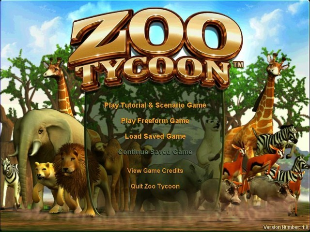 Zoo Tycoon - Macintosh Repository