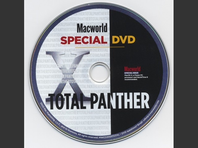 Macworld Total Panther DVD (2003)