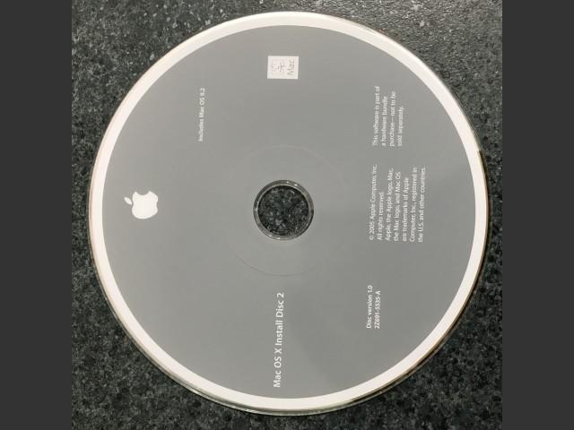 iMac G5 (Summer 2005, ALS, iSight) Restore Disks / Mac OS 9.2.2 & X 10.4.2 (2005)