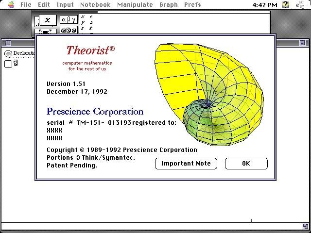 Theorist 1.51 (1989)