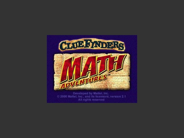 ClueFinders: Math Ages 9-12 (1999)