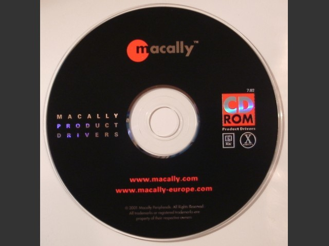 Macally Product Drivers (2001)