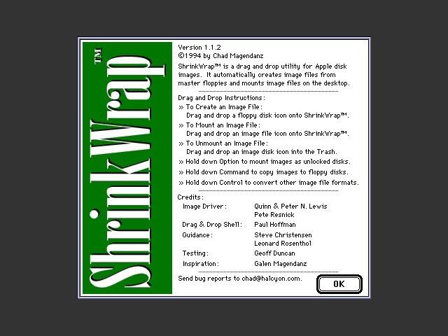 ShrinkWrap 1.1.2 (1994)