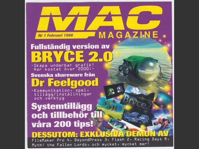 Mac Magazine 1998 Cover CDs (1998)
