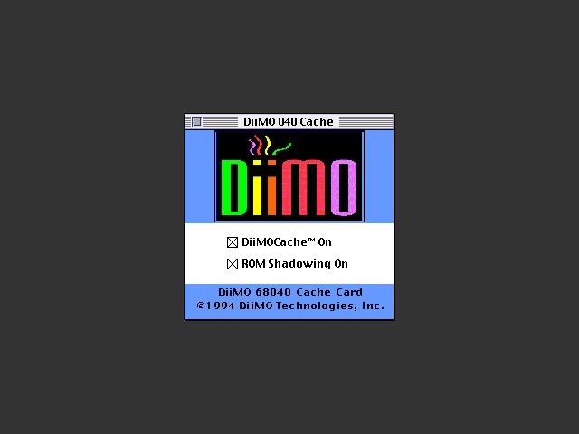 DiiMO 040 Cache (1994)