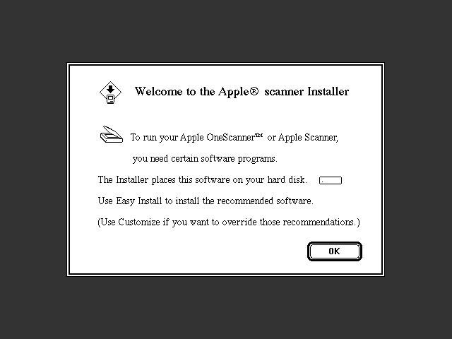 OneScanner Software (1991)