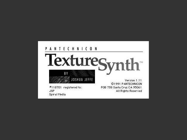 TextureSynth (1991)