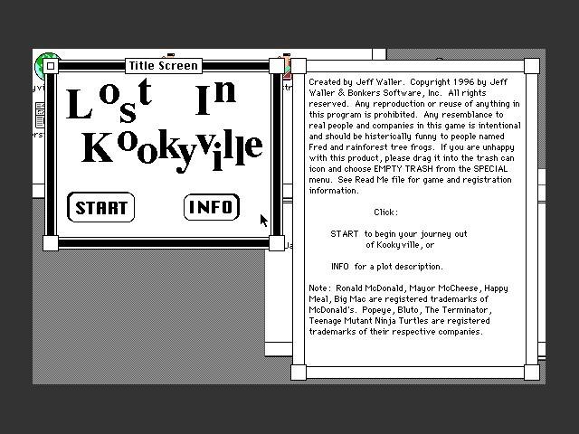 Lost in Kookyville (0)