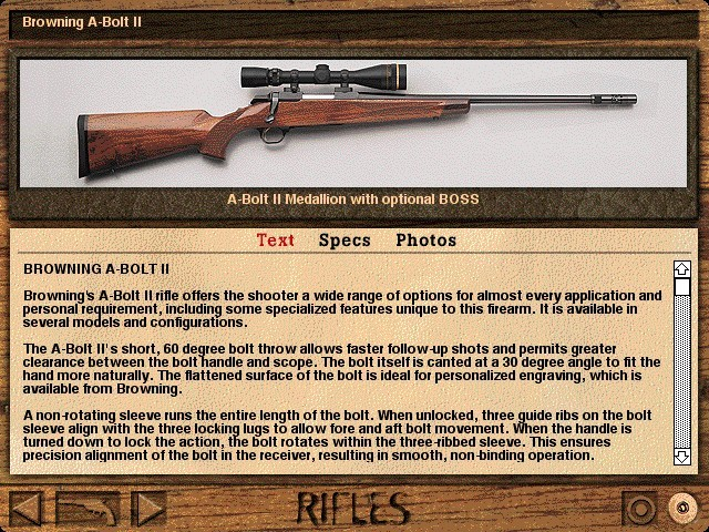 Multimedia Guns: The Enthusiast's Guide to Firearms (1996)