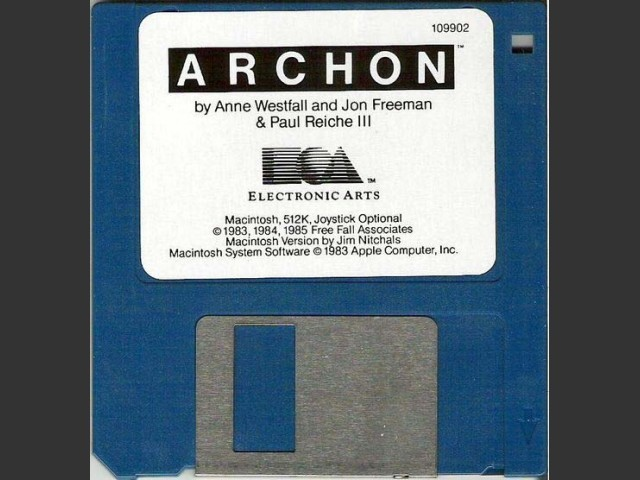 Archon (Mac) floppy disk