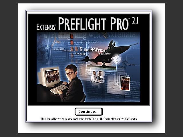 Extensis Preflight Pro 2.1.1 (1998)