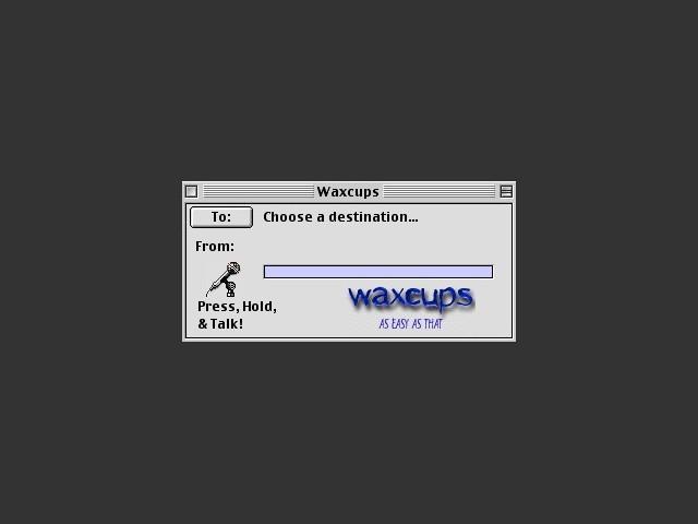 Waxcups 1.0 (1999)