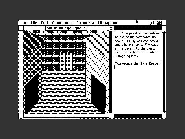 The Village (1987) screenshot.