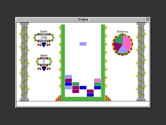 Trojka in-game screenshot