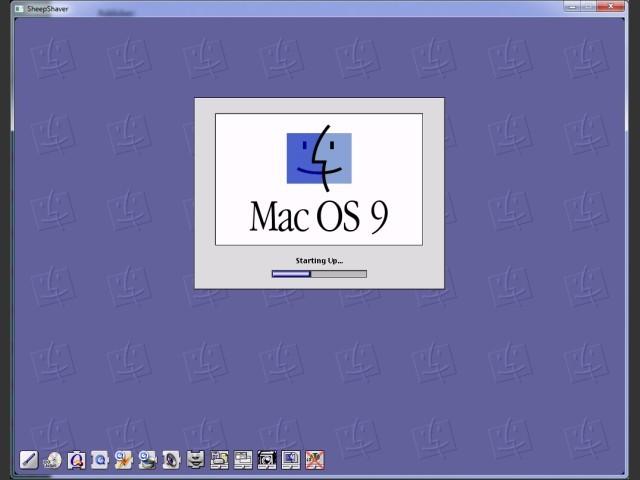 SheepShaver running Mac OS 9.0.4 on Windows 7