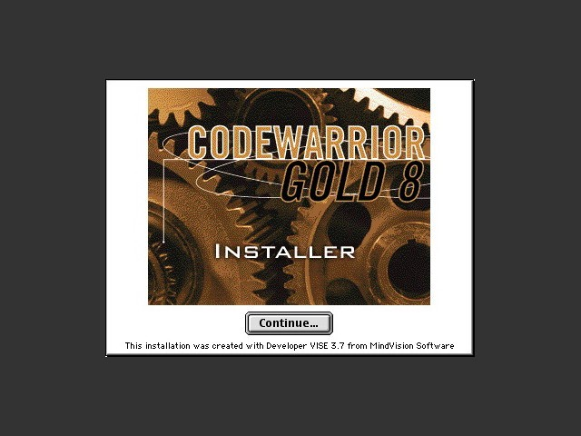 Installer splash screen