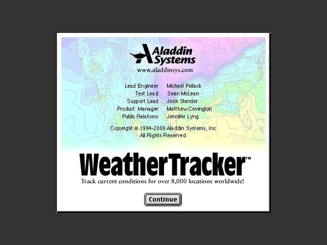 Aladdin WeatherTracker (1994)