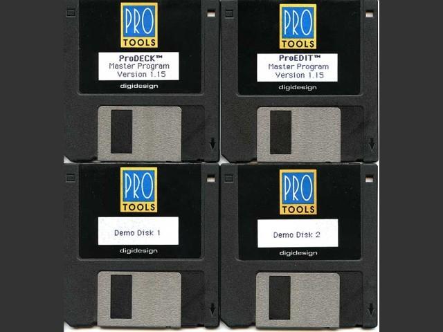 Pro Tools 1.1 (1991)