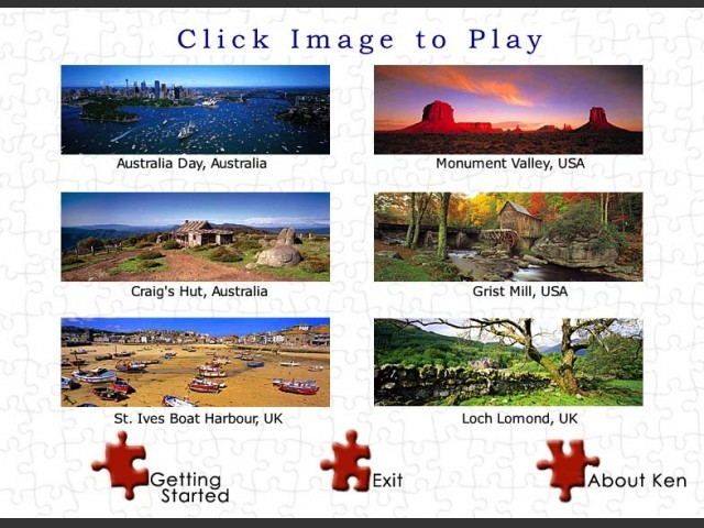 Click Jigsaw Puzzles: International Series 3 (2003)