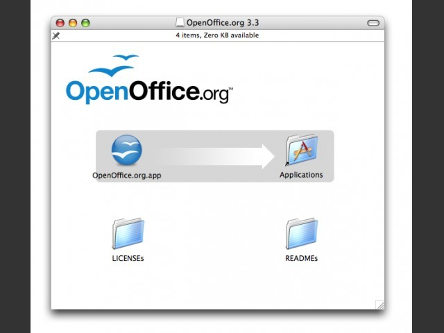 OpenOffice 3 for Mac (PPC) (2002)