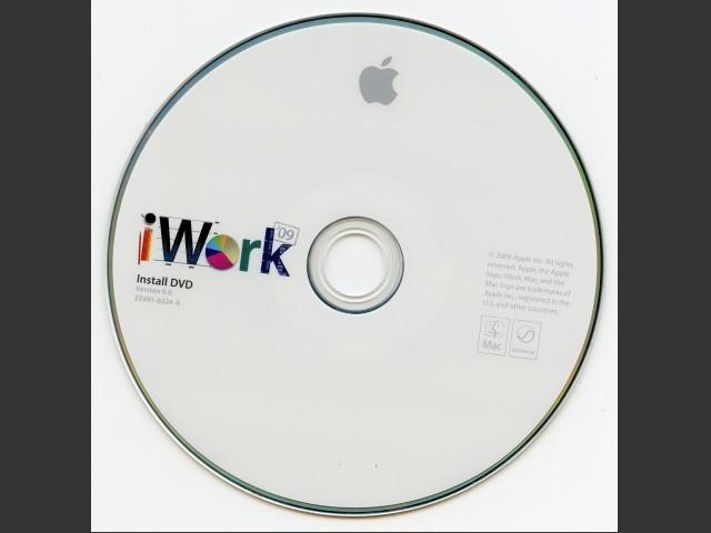 691-6324-A,2Z,iWork 09 v9.0 Install (DVD) (2009)