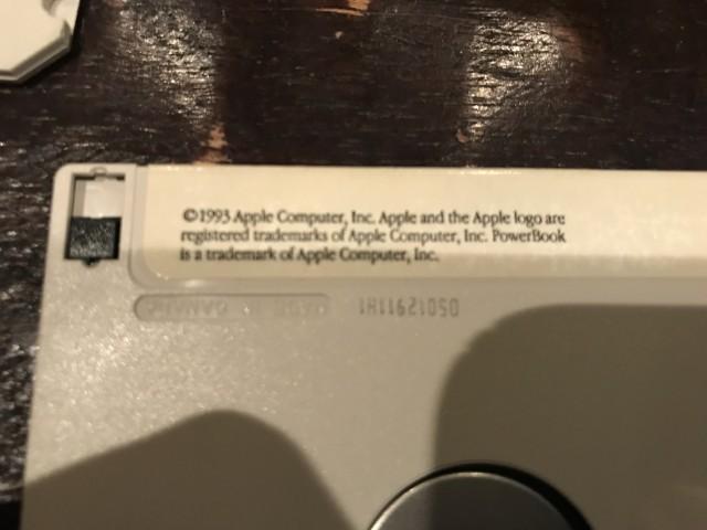 Apple Copyright 1993