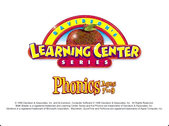 Kid Phonics 2 - Ages 7-9 (1996)