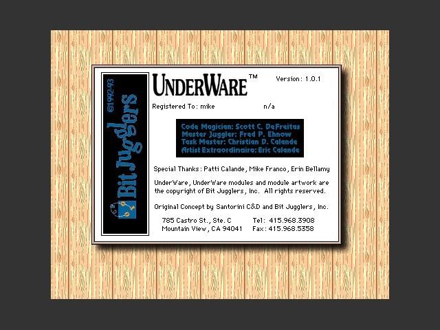UnderWare 1.0.1 (1993)
