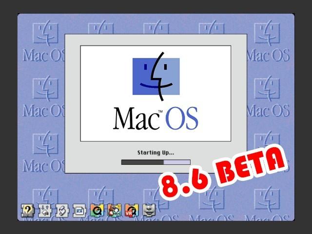 Mac OS 8.6 Beta (8.6a3c4, 8.6b3) (1998)