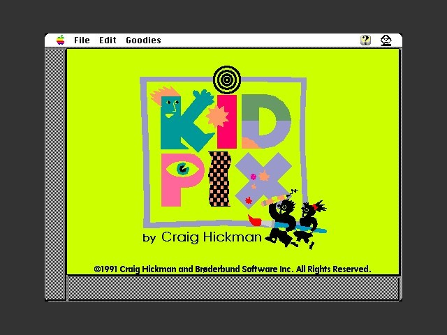 Kid Pix 1.1 (1991)