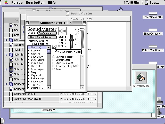 SoundMaster (plus Vol. 2, Star Trek Sounds) (1997)
