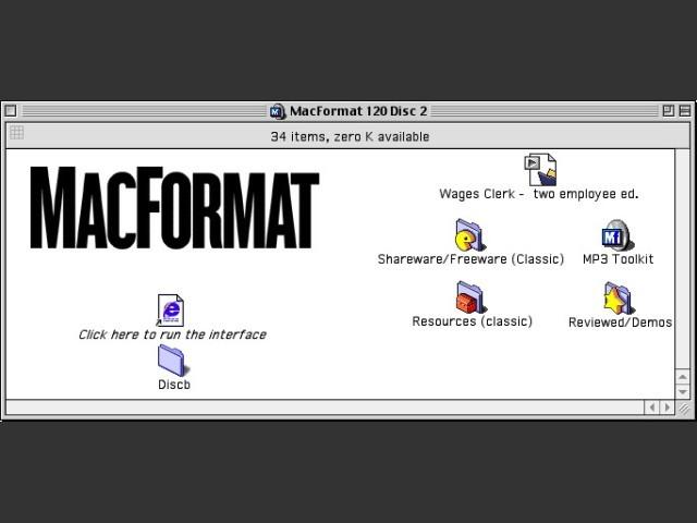 MacFormat 120 CD 2/2