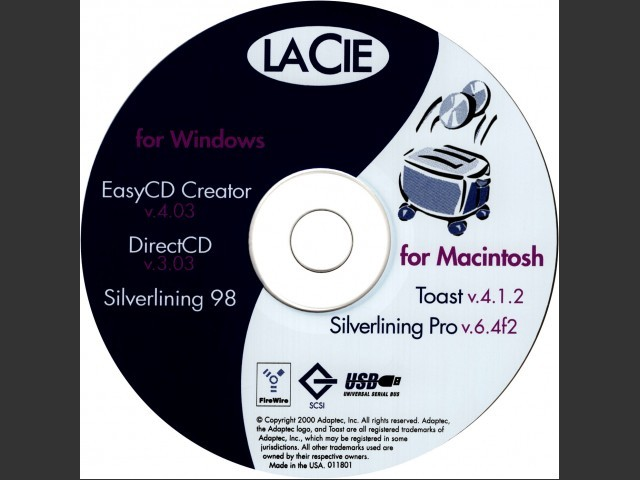 LaCie Recording Utilities (2001) (2001)