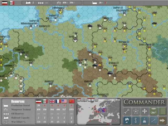 Commander: Europe at War (2008)