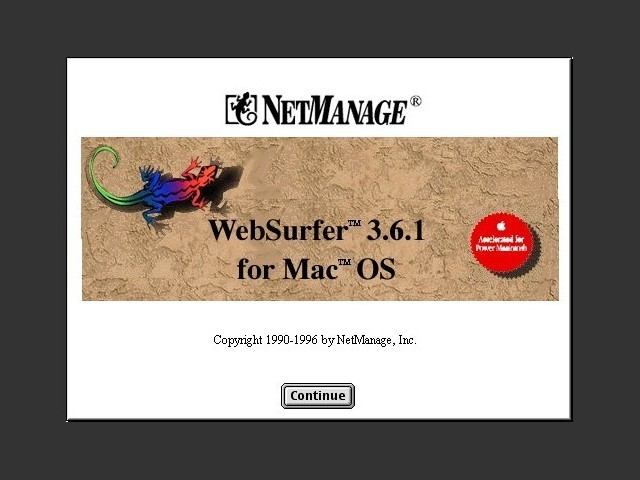 NetManage WebSurfer (1996)