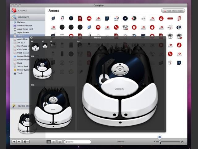 CandyBar Version 3 screenshot