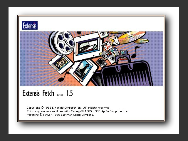 Extensis Fetch 1.5 (1996)