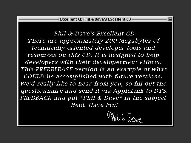 Developer Helper Stack Welcome message
