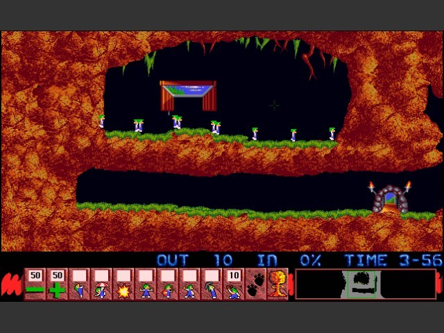 Lemmings/Oh No! More Lemmings (1991)
