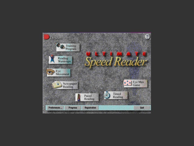 Ultimate Speed Reader (1997)