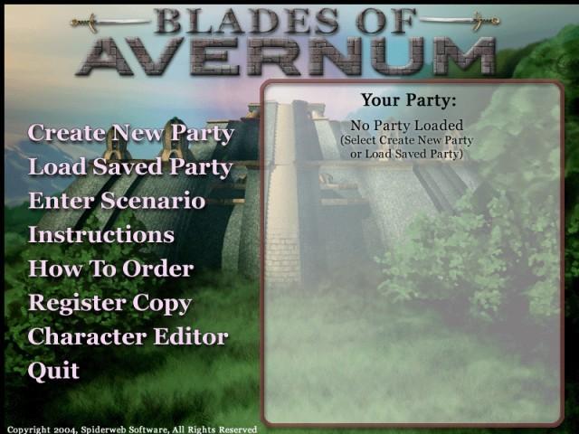 Blades of Avernum (2007)